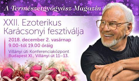 A Természetgyógyász Magazin XXII. Ezoterikus Karácsonyi Fesztiválja