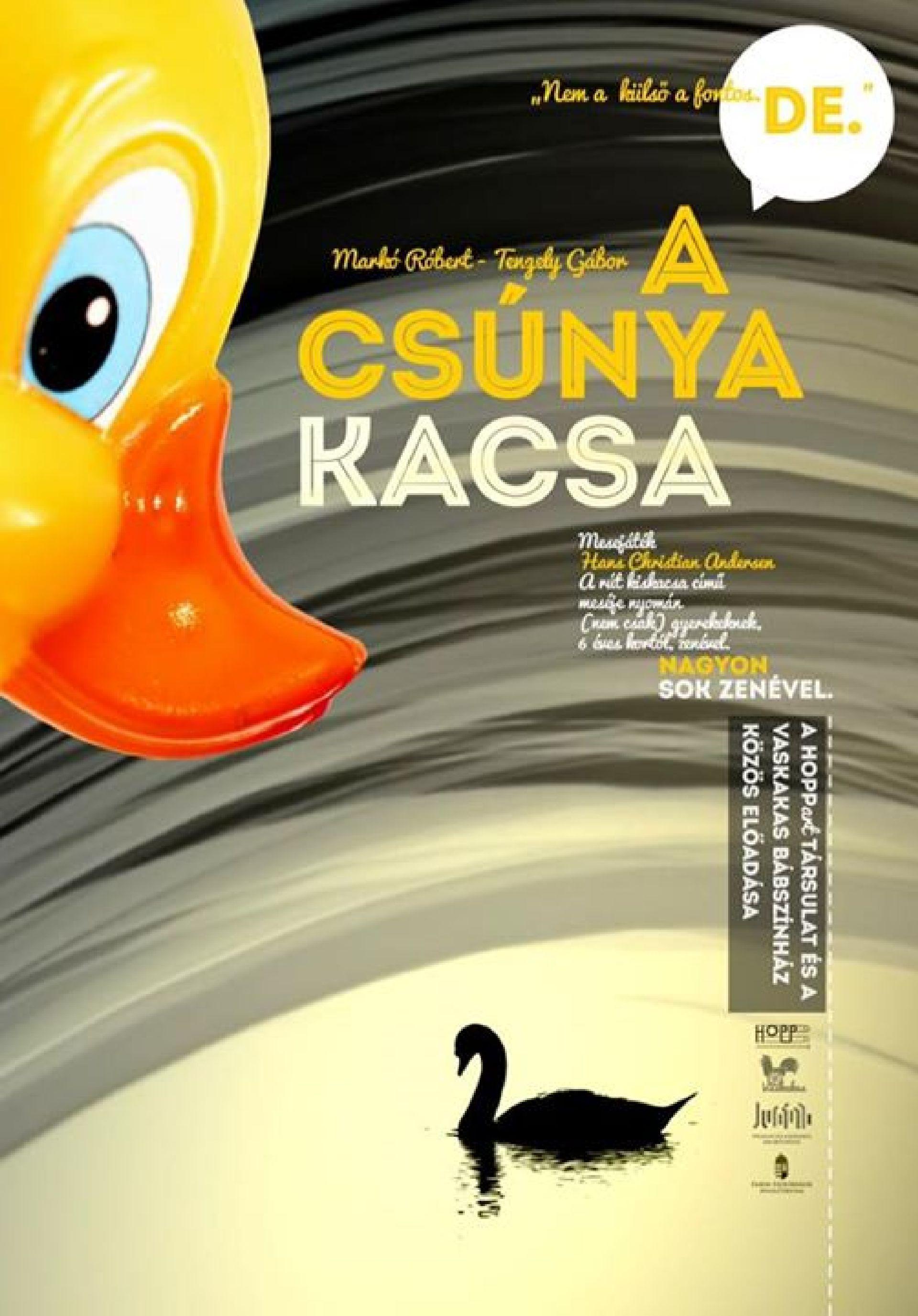 A csúnya kacsa (6 éves kortól) - HOPPart Társulat - Vaskakas Bábszínház: