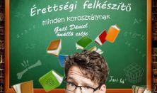 Érettségi felkészítő minden korosztálynak - Gaál Dániel önálló estje, vendég: Fülöp Viktor