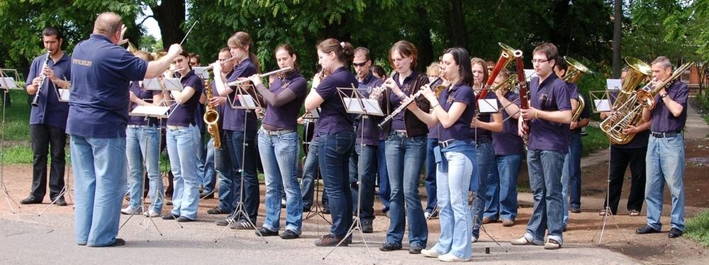 A 25 éves Városi Fúvószenekar jubileumi koncertje