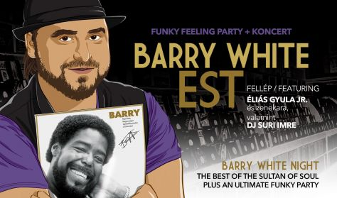 Barry White est - Éliás Gyula Jr. + Funky Feeling Party