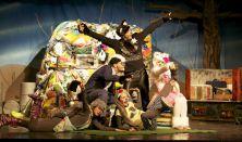 A szeméthegyen túl - zenés mesejáték Turay Ida Színház