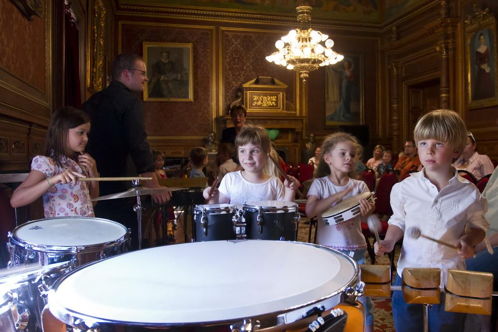 Csengő-bongó délután - trombita, tuba