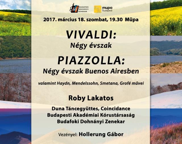 Budafoki Dohnányi Zenekar, Évszakok keringője, Vezényel : Hollerung Gábor