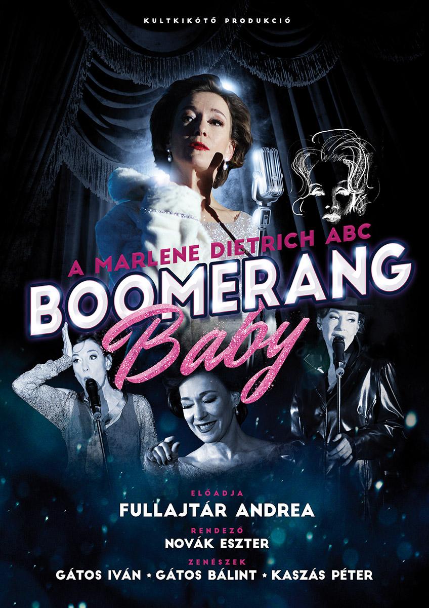 BOOMERANG BABY - Marlene Dietrich ABC