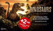 Living Dinosaurs - Vissza az Őskorba - belépés kedd-csütörtök 10-18 óráig