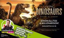 Living Dinosaurs - Vissza az Őskorba - belépés hétvége 10-20 óráig