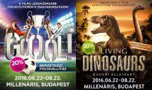 Gooól!+Living Dinosaurs kombinált Családi jegy - bármely időpontban felhasználható