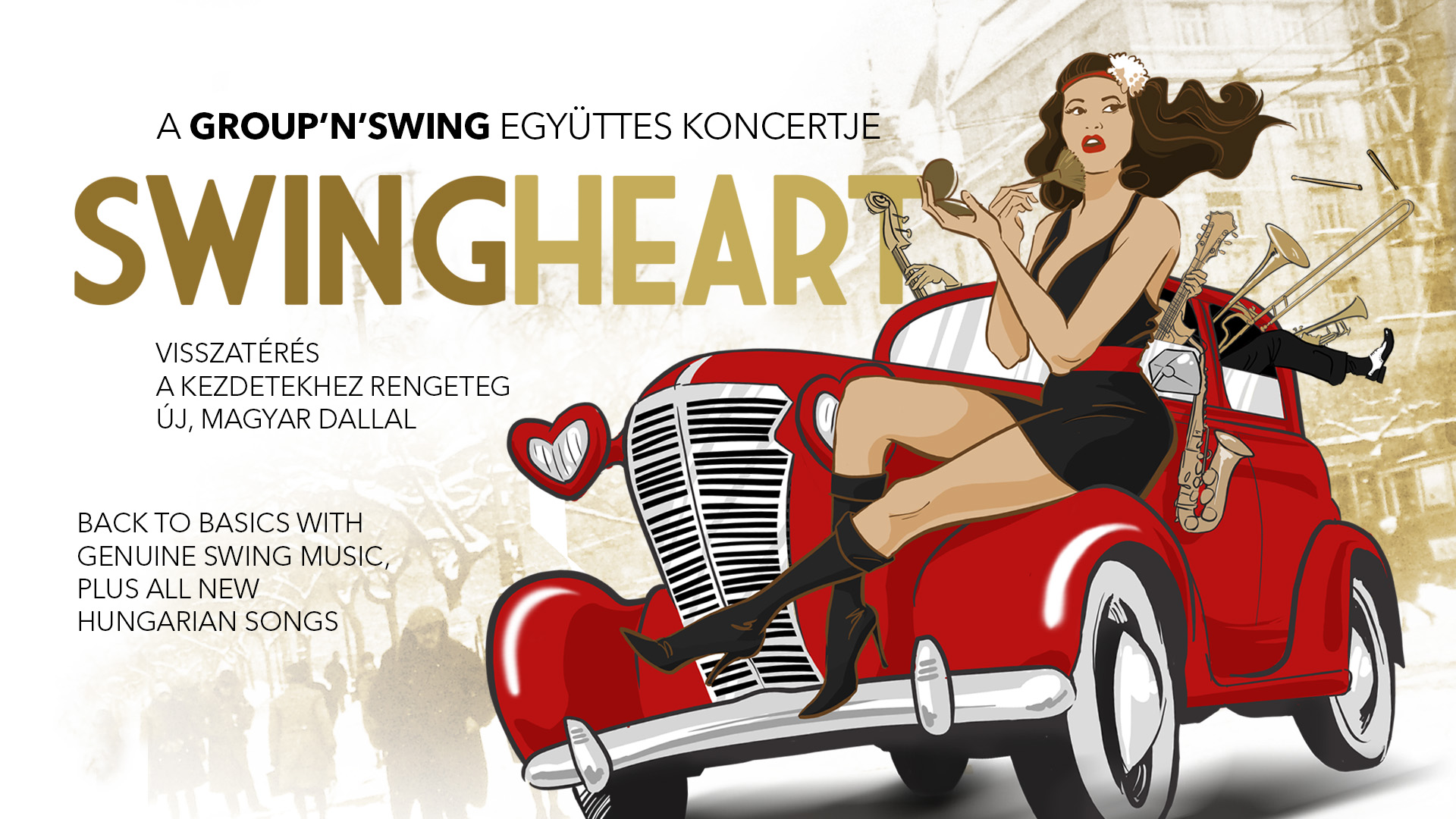 SwingHeart - Group'n'Swing + DJ