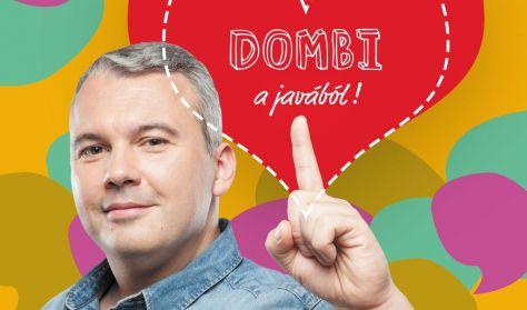 Dombi a javából - Dombóvári István önálló estje, vendég: Szabó Balázs Máté