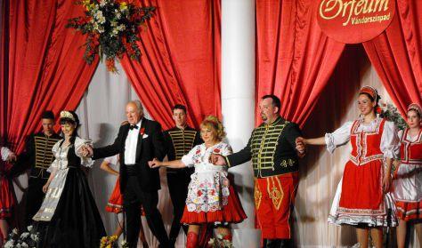 Orfeum Vándorszínpad: Operett Gála az Operett Csillagaival