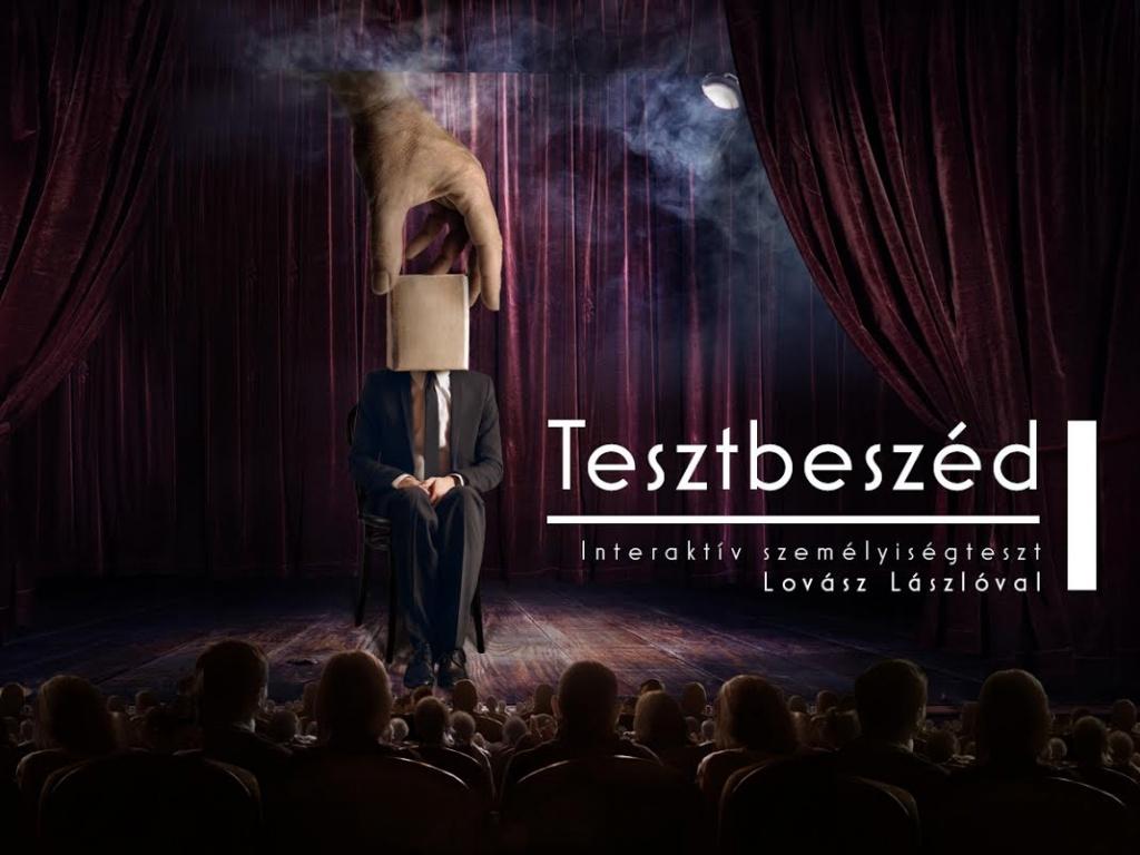 Tesztbeszéd Aranyosi Péterrel - talkshow, műsorvezető: Lovász László