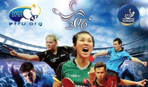 2016 Liebherr ITTF Asztalitenisz Európa-bajnokság / Napijegy péntek