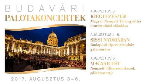"""Budavári Palotakoncertek - Budapesti Operettszínház: Operett Gála - """"Sissi nyomában"""""""