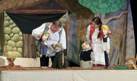 Aprók Színháza 1 - Nyakigláb, csupaháj, málészáj