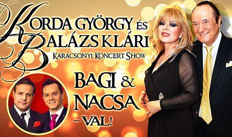 Korda - Bagi Nacsa - Karácsonyi Koncert Show