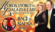 Korda - Balázs Klári - Bagi Nacsa - Karácsonyi Koncert Show