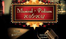 Musical-Pódium Cole Porter-től George Gershwin-ig énekes-táncos show műsor