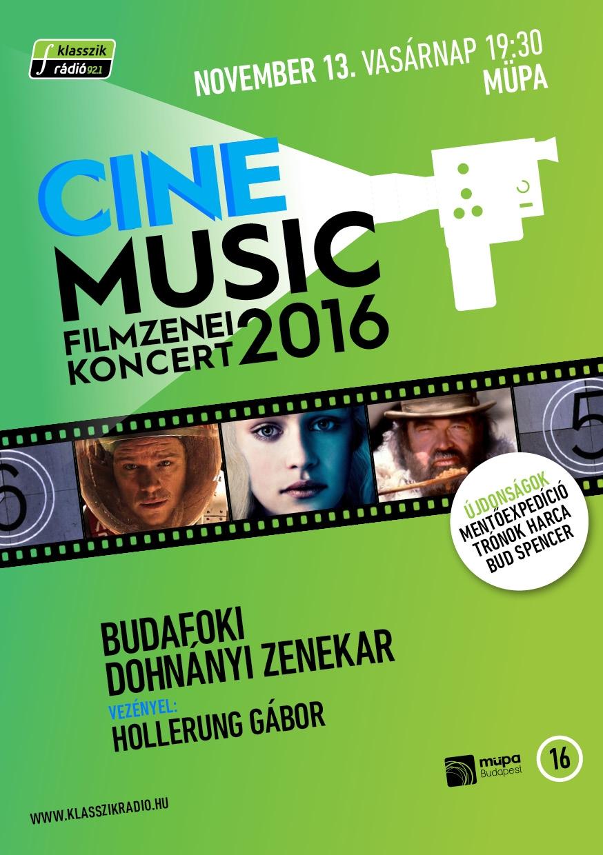 Cinemusic 2016 RÁADÁS