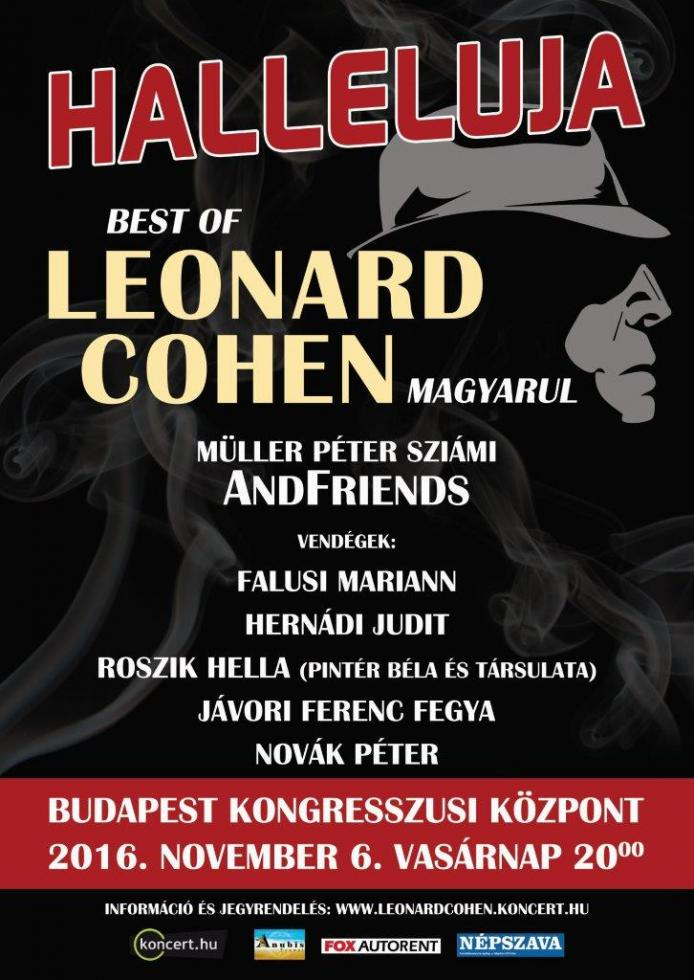 Halleluja - Best of Leonard Cohen magyarul