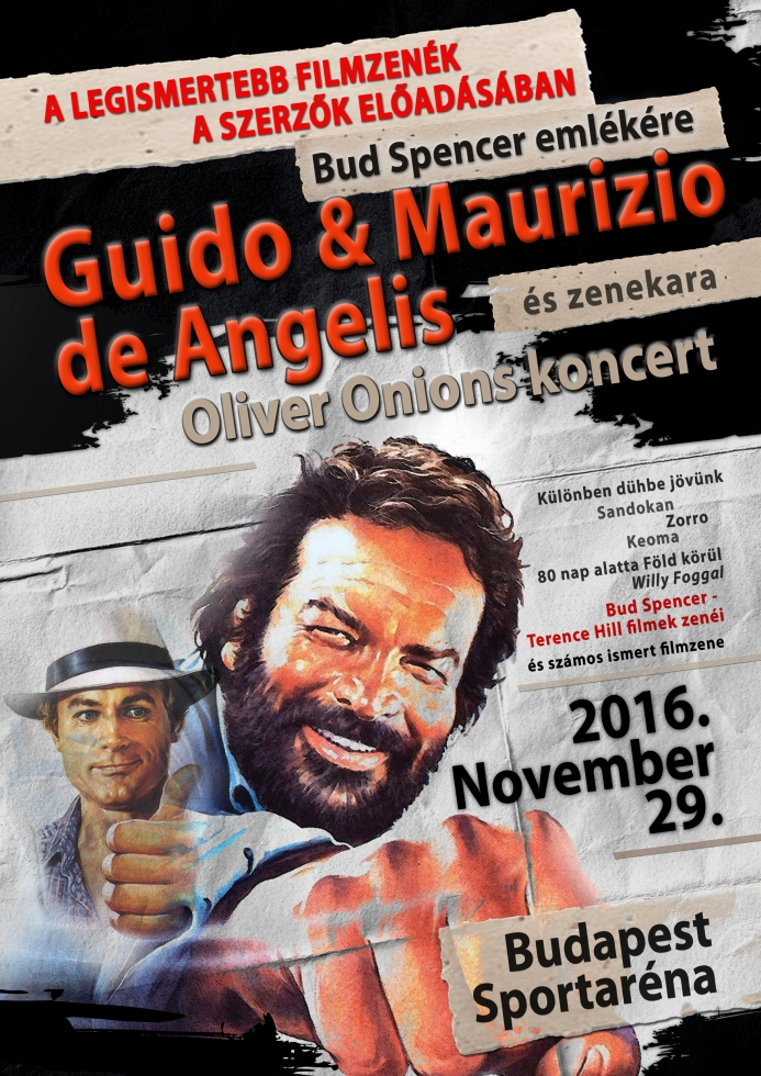 Guido & Maurizio de Angelis és zenekara - Bud Spencer emlékére