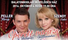 OPERETT VARÁZS - Szendy Szilvi és Peller Károly