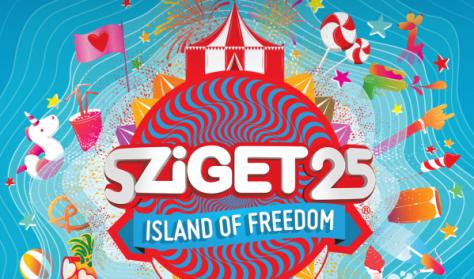 Sziget Fesztivál  / -1. NAPIJEGY - Aug. 9.