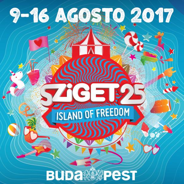 Sziget Fesztivál  / 2. NAPIJEGY - Aug. 12.