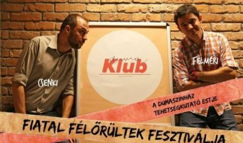 Fiatal Félőrültek Fesztiválja,műsorvezető: Csenki Attila