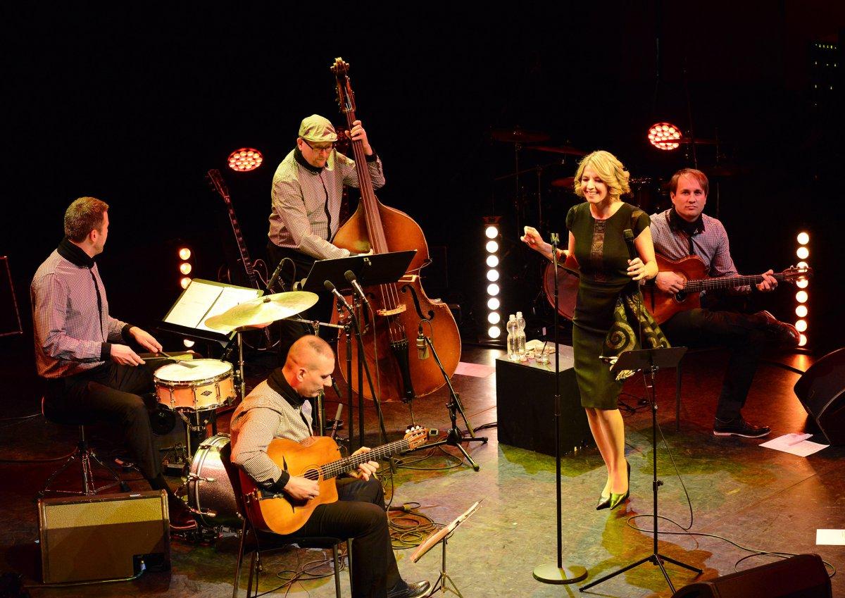 Jazz est - Myrtill és a Swinguistique lemezbemutató koncert - zenés színpadi előadás