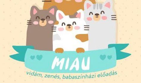 MIAU zenés babaszínházi előadás