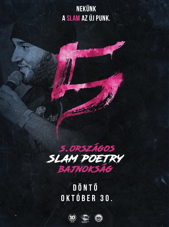 A Trafó és a Slam Poetry Budapest bemutatja: V. ORSZÁGOS SLAM POETRY BAJNOKSÁG – Döntő
