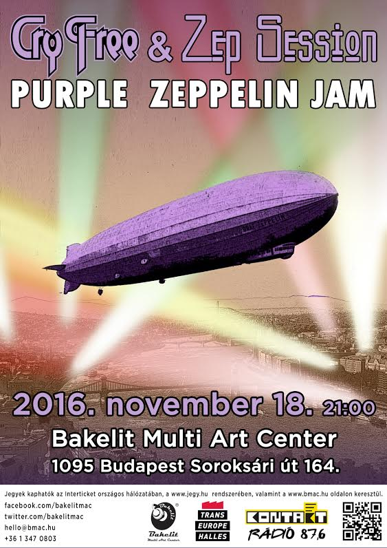 Cry Free / Zep Session : Purple Zeppelin Jam