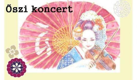 Őszi koncert  - a Zeneakadémián tanuló japán hallgatók kamarahangversenye