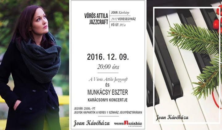 JOAN Jazz - Vörös Attila Jazzcraft - Karácsonyi koncert