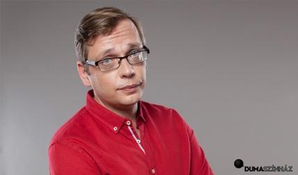 Kőhalmi Zoltán, Beliczai Balázs, műsorvezető: Tóth Edu