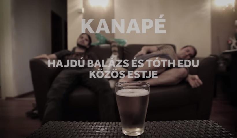 KANAPÉ - Hajdú Balázs és Tóth Edu közös estje - BEMUTATÓ!