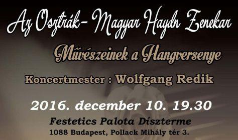 Az Osztrák-Magyar Haydn Zenekar Művészeinek a Hangversenye, Bach, Haydn, Mozart