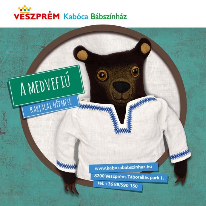 Kabóca Bábszínház - A Medvefiú