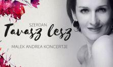 Szerdán tavasz lesz - Malek Andrea és a Jazzrael koncertje