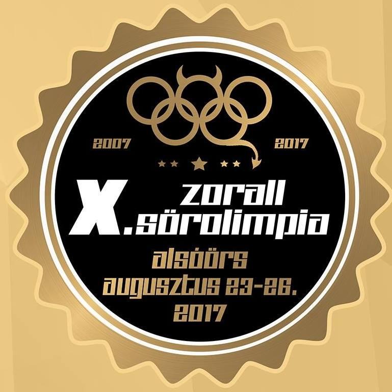 X. ZORALL SÖROLIMPIA - Napijegy