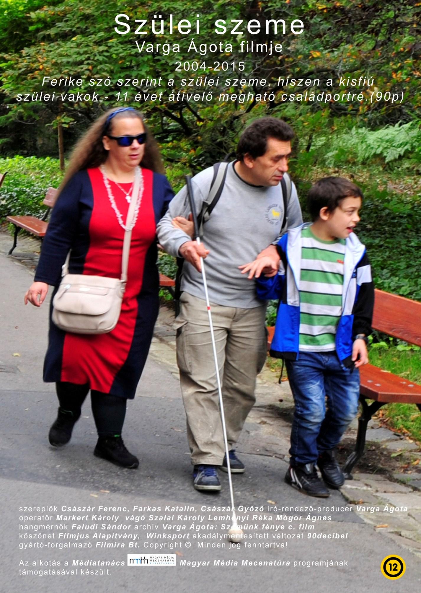 Varga Ágota dokumentum filmjeiből: Szülei szeme