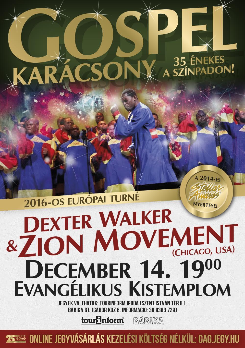 Gospel Karácsony - Dexter Walker & Zion Movement