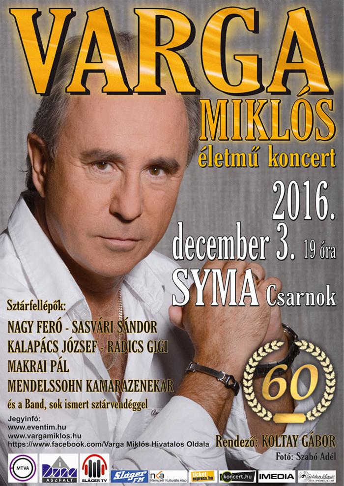 Varga Miklós 60 életmű koncert