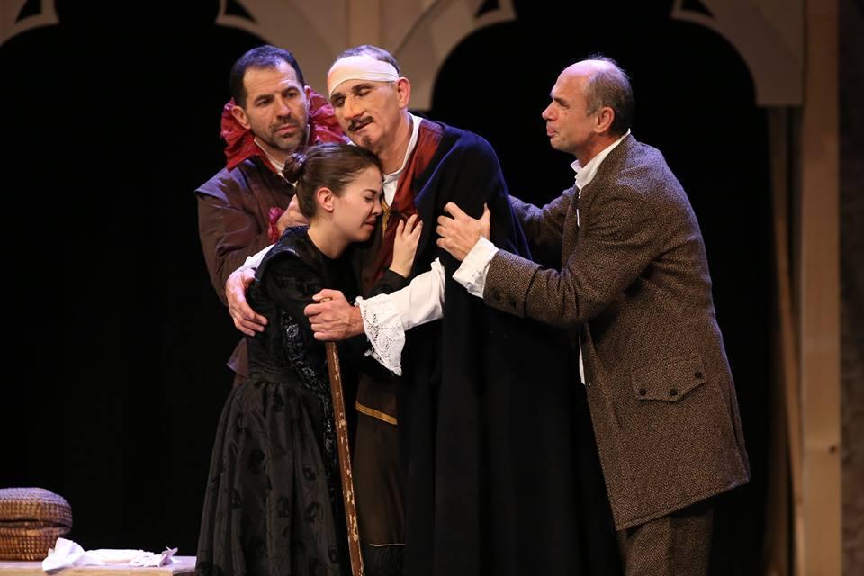 E. Rostand: Cyrano de Bergerac - zenés színpadi előadás