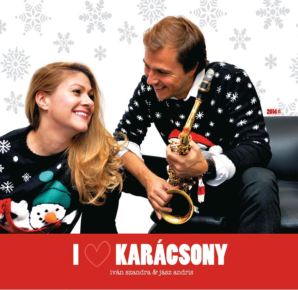 """Jazzy Live-""""I ? Karácsony"""" Iván Szandrával és Jász Andrissal"""