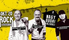 Nagy Budai Házibuli: Pataky Attila, Nagy Feró, Dj Dominique