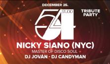 BRKLYN Holiday Festival - Studio54 - Nicky Siano (NYC) Master of Disco Soul