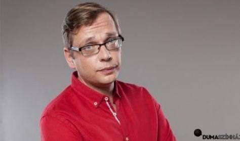 Kőhalmi Zoltán, Beliczai Balázs, műsorvezető: Felméri Péter