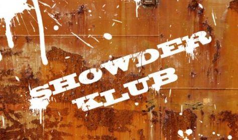 "SHOWDER KLUB felvétel - Orosz György, Rekop György, Lorán Barnabás ""Trabarna"", Musimbe Dávid Dennis"